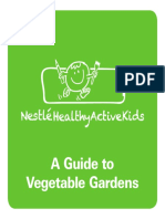 Vegetable Gardening Booklet