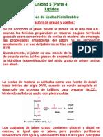 Unidad 5 Biomoléculas Lípidos P.4 2S 2014 USAC