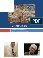 Modernidad Marco Conceptual