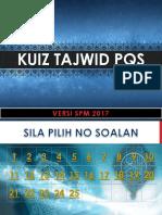 Kuiz Pqs Tajwid v2017
