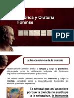 T de Retórica y Oratoria Forense.