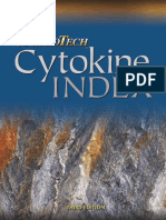Cytokine Index - Peprotech