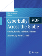 Raúl Navarro, Santiago Yubero, Elisa Larrañaga Eds. Cyberbullying Across the Globe Gender, Family, And Mental Health