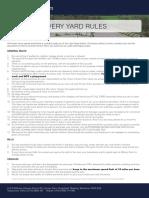 Amners Farm Livery Yard Rules