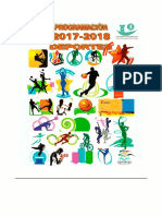 Programacion Deportes 2017-2018
