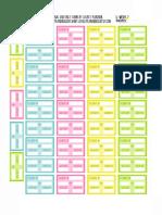 PDF Flight Info Stickers - Freebie by Lovely Planner
