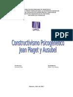 Constructivismo Jean Piaget