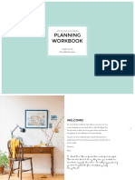 How to Style Your Brand Planning Workbook