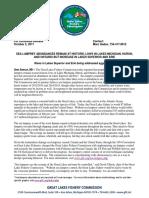 2017 Sea Lamprey Abundances 10-3-17