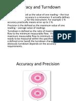 Accuracy and TurndownRev1
