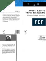 Iniciacic3b3n Al Estudio Didc3a1ctico de La Geometrc3ada Horacio Itzcovich