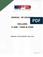 Resumen Manual Usuario F308-F306 & F300 Marzo 2012