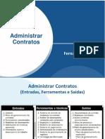 Administrar contratos