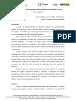 """Organização de dados do projeto """"Sustentabilidade da irrigação no setor sucroenergético"""""""