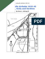 Airfields - Italy Sicily and Sardinia