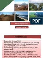 Geomorfologi Teknik Geodesi