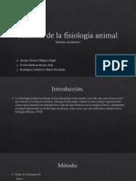 Historia de La Fisiología Animal