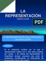 4ta Clase La Representacion