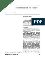 Racionalidade e Sistema No Direito Civil Brasileiro