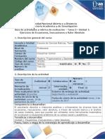 Guía de Actividades y Rubrica de Evaluación Tarea 3- Desarrollar Ejercicios de Ecuaciones, Inecuaciones y Valor Absoluto - A-1
