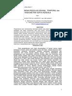 JURNAL DDPJ Perbandingan Resolusi Citra