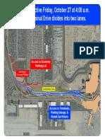 Terminal Drive Road Divide