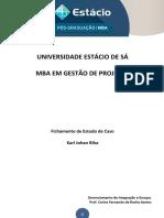 Fichamento Gerenciamento Da Integração e Escopo - MediSys Corp