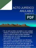 15 Ava Clase Acto Juridico Anulable 2011-II
