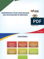2382 Herramientas Claves Para Hacer Investigación de Mercados - OfE MEMORIAS PROG EMP EXTERIOR