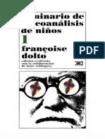 Dolto Francoise - Seminario de Psicoanalisis de Niños 1