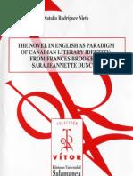 The Novel English as Paradigm of Canadian Literary Identity