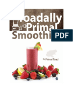 Toadally Primal Smoothies July 2016