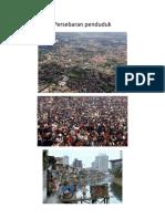Persebaran penduduk