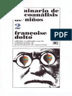 Dolto Francoise - Seminario de Psicoanalisis de Niños 2