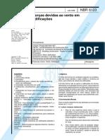NBR 06123 - 1988 - Força Devido aos Ventos.pdf