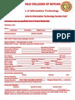 MELJUN CORTES's - CIT Application Form for Organization