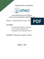 Código de Ética Profesional Del Contador Público Peruano