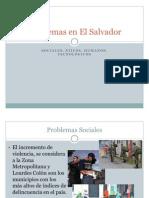 Problemas en El Salvador