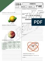 Química - Pré-Vestibular Impacto - Atomística