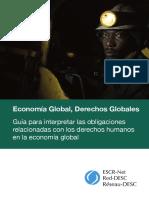Economia Global Derechos Globales