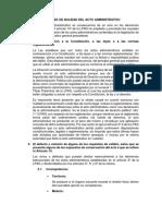 Ley 27444 - Nulidad Del Acto Administrativo