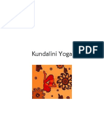 Kundalini Yoga Overview