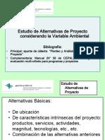 Tema 6 - Estudio Alternativas Proyecto Cons Variable Ambiental