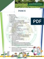 Normalización- Norma de Producto Alimenticio-Informe