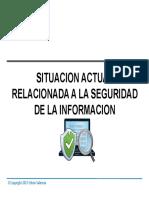Lecture 01 Introduccion a La Seguridad de La Informacion