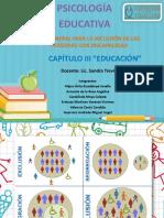 Capítulo 3 educación