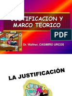 Justificacion y Marco Teórico