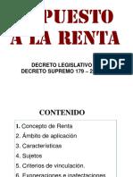 Renta de Tercera de Categoria 2015