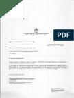 El documento de Cancillería para Lleral
