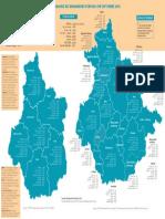 Carte de l'emploi en CVDL